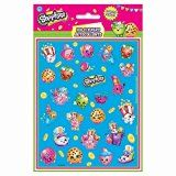 100 Shopkins Stickers on 4 sheets, great party/loot bag fillers