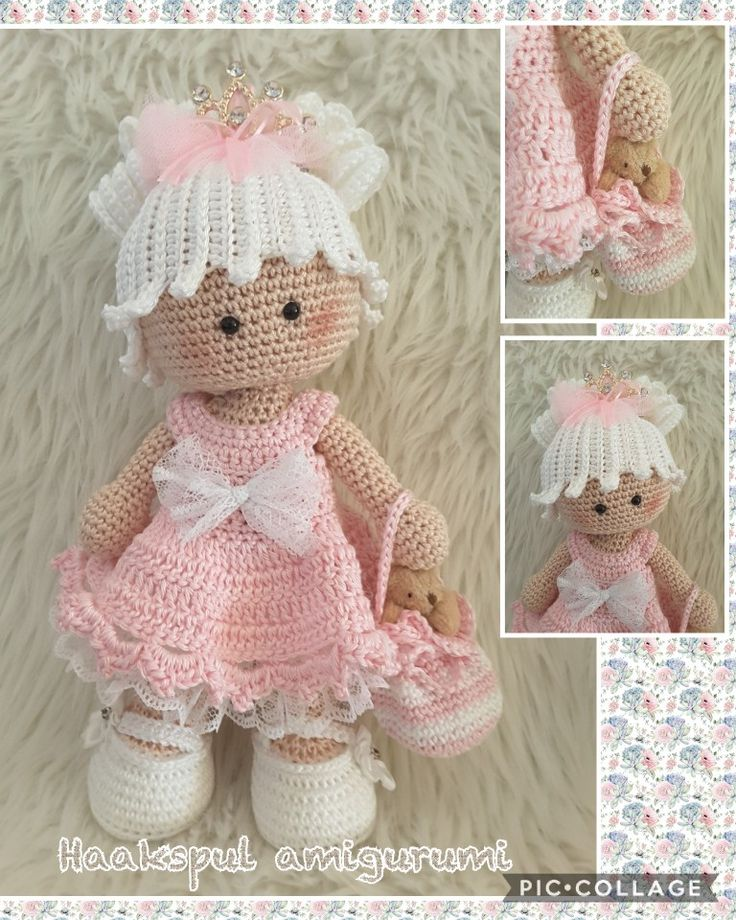 Een sweet Noa prinses gemaakt, kooppatroon van Marrot Design https://www.marrotdesign.nl/product/sweet-noa.html