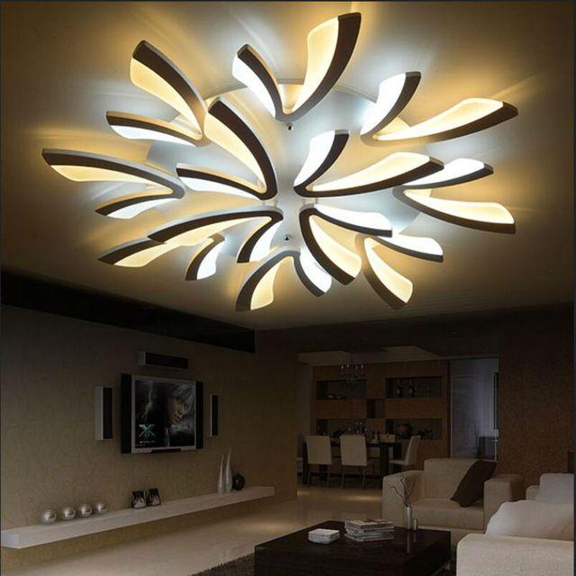 Wonderbaarlijk Moderne LED Plafondlamp Plafondlamp luster Plafond Decoratie Ijzer PZ-76
