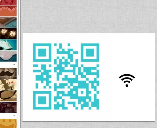 Make a QR code out of your WiFi password. No more awkward asking moments for your code!!!!