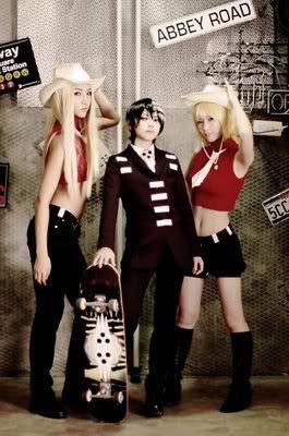 Liz & Death the Kid & Patty | Soul Eater #cosplay #anime #manga