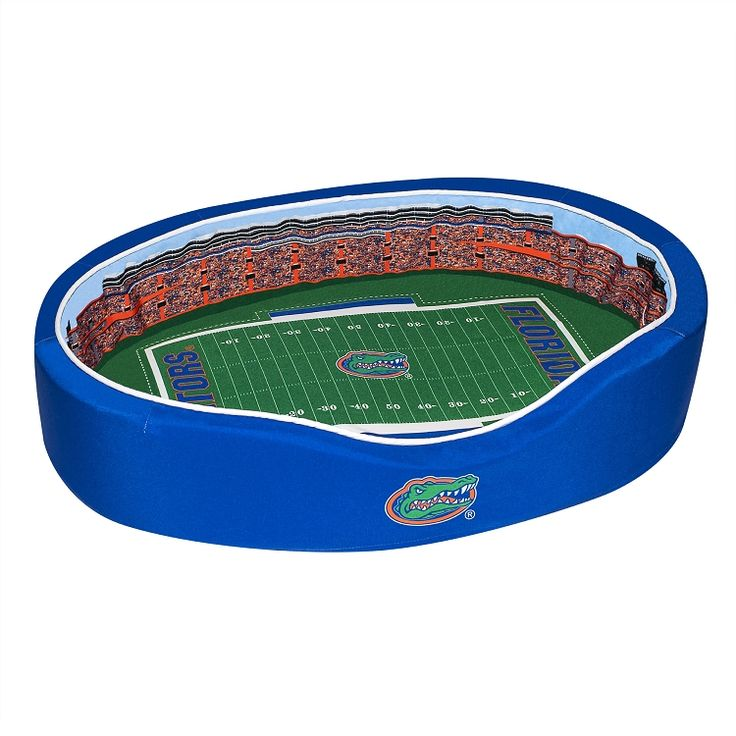 Florida Gators Pet Bed - Ben Hill Griffin Stadium Replica - Medium