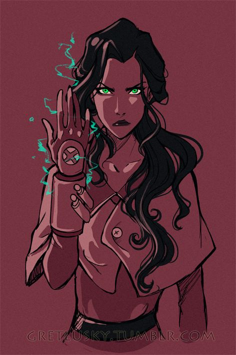 Awesome Asami fanart!
