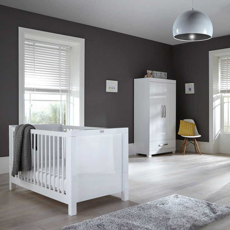 The Notting Hill furniture collection from Silver Cross is perfect for a contemporary nursery.
