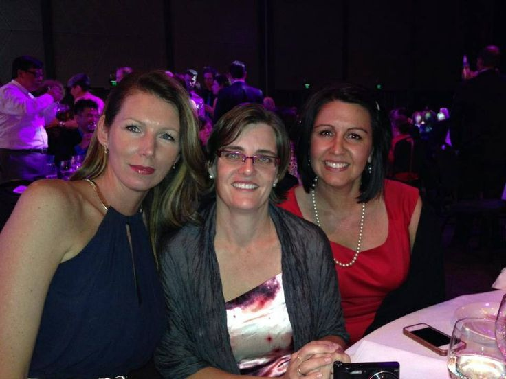 Some of the Yummy Mummy team at our awards night at convention.