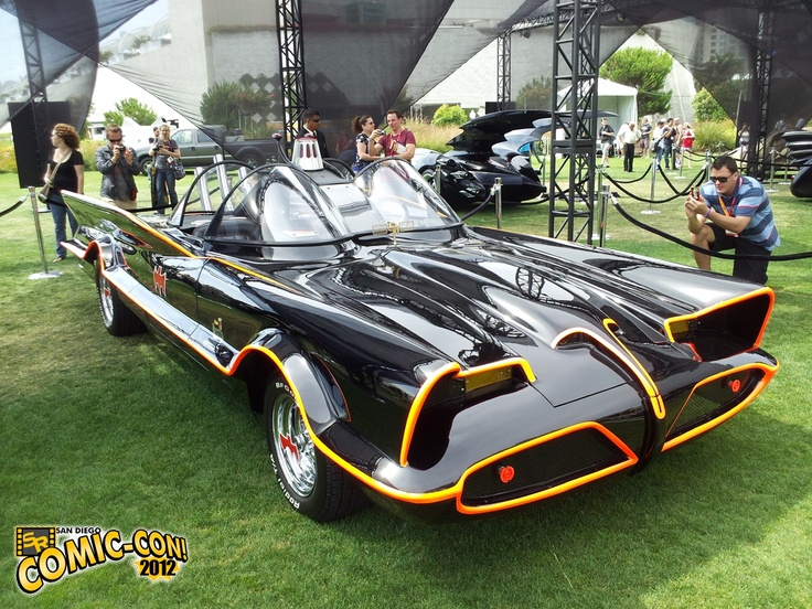 "1960s Batmobile used by Adam West in the ""Batman"" TV series on ABC..."