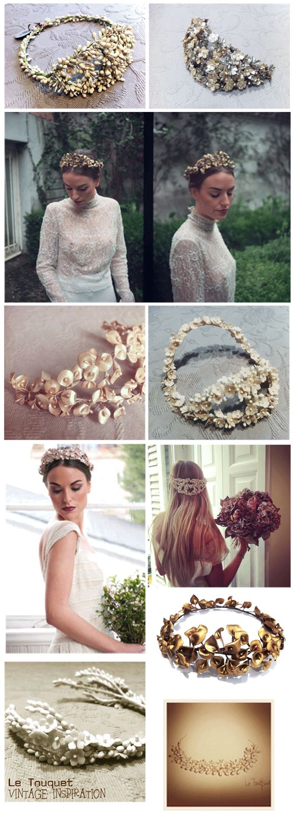- Bodas Colorín Colorado - Tocados Le Touquet - Headpieces - Bridal