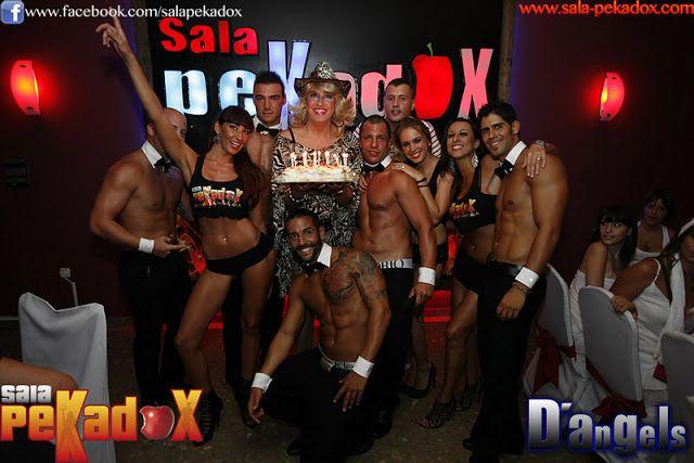 Las Fotos de las despedidas de solteras  solteros en la Sala Erótica Pekadox en Málaga: Las Fotos de las despedidas de solteros y solteras...