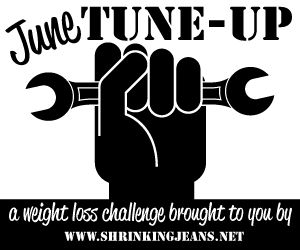 June Tune-Up Challenge - A FUN Weight Loss Challenge from the Sisterhood of the Shrinking Jeans
