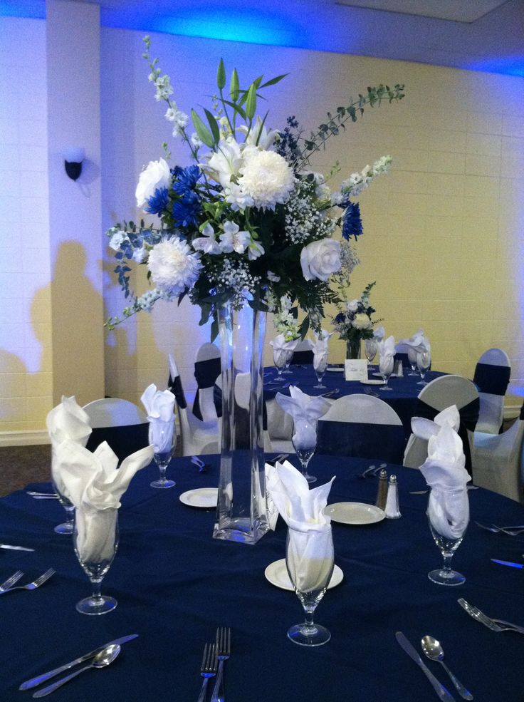 tall vased centerpieces