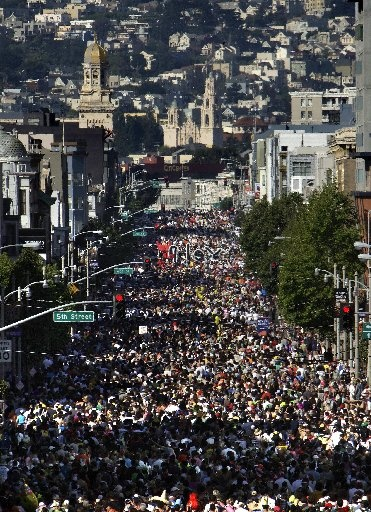 Bay to Breakers in San Francisco, CA