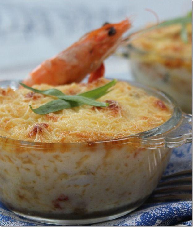 gratin de fruits de mer ~ Cuisine Arabe