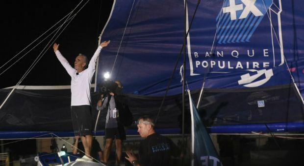 Loïck Peyron vainqueur de la Route du Rhum 2014