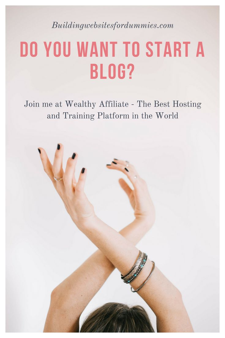 Join me at Wealthy Affiliate for Free. https://buildingwebsitesfordummies.com/how-to-join-wealthy-affiliate-and-why-the-best-time-is-now