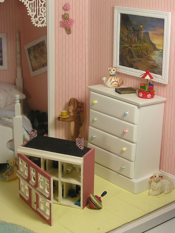 112 scale miniature roombox based on the childrens room from the movie hook