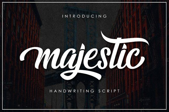 Majestic Script by Musafir LAB on @creativemarket
