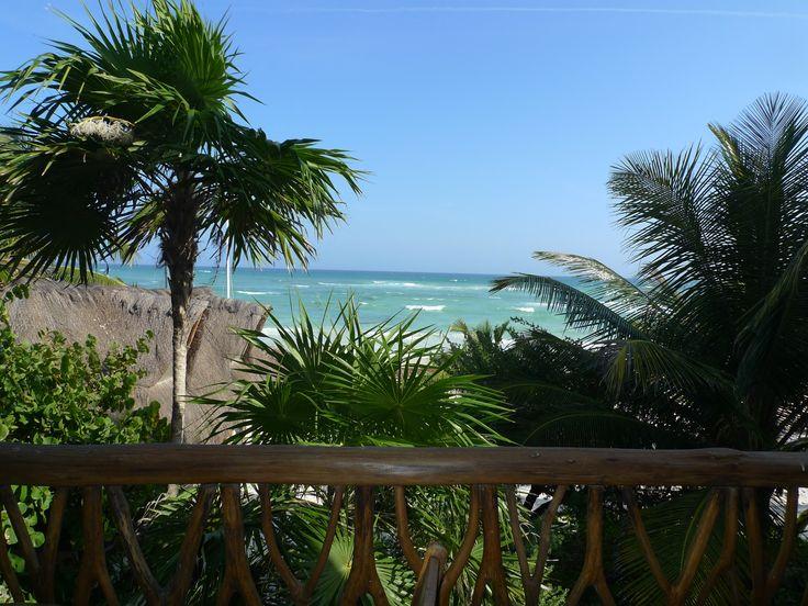 Love this view! Ahau Tulum!