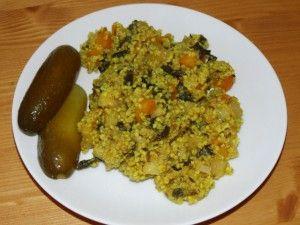 Recepty babičky Aničky - Zeleninová a bezmasá jídla - Pohanka, jáhly, sója, kroupy, cizrna 2