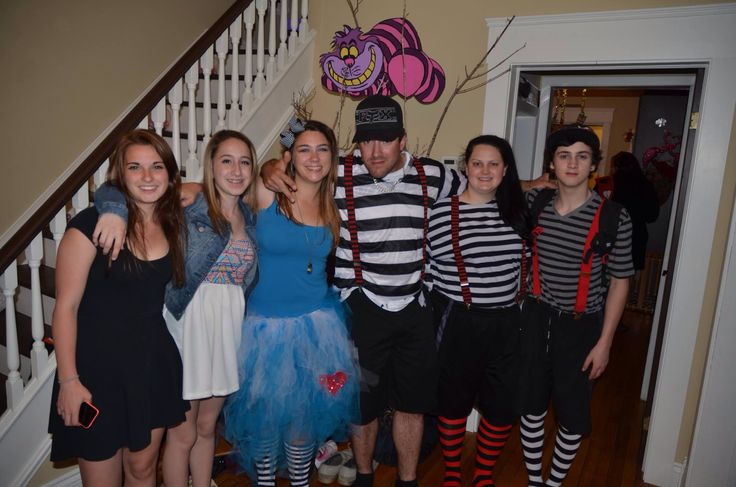 Tweedles and tea guests