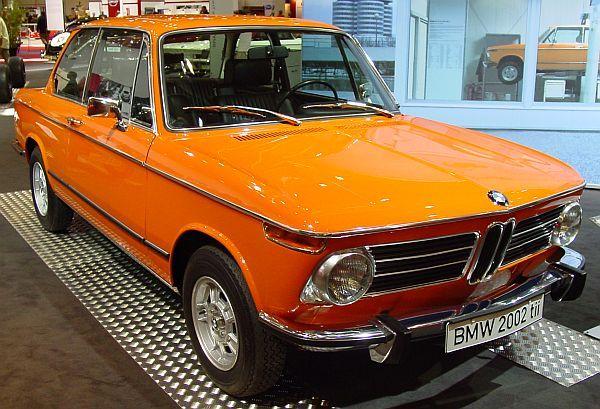 1967 BMW Model 2002: In Orange