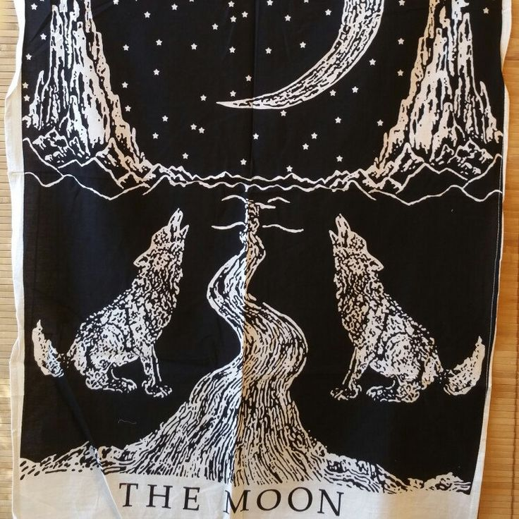 The Moon..soft cotton  wall Tapestry