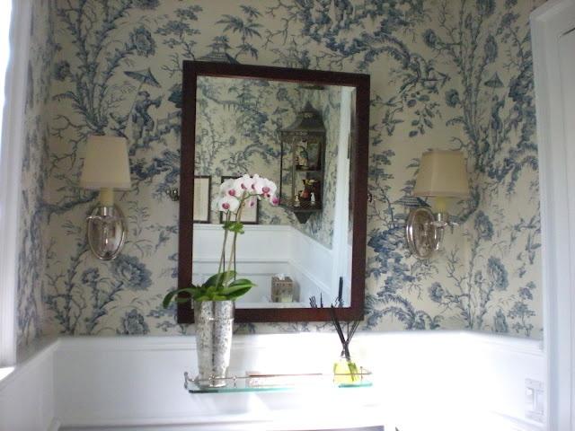 Toile Bathroom Ideas: Images On Pinterest