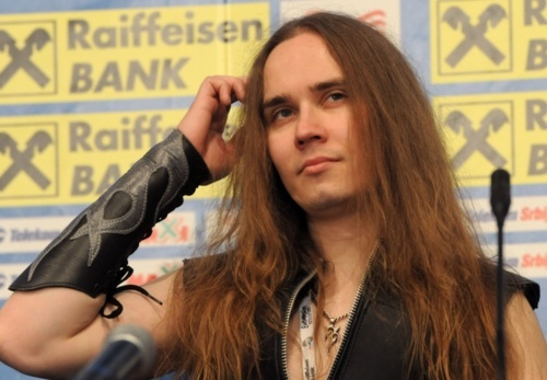 Jarkko Ahola, lead singer of Terasbetoni ♥