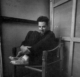 Jonathan Larson ; the mastermind behind RENT. He never got to see his show open on broadway. He died the day it opened. Such a sad story. He will never be forgotten!!
