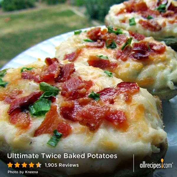 The Ultimate Twice Baked Potatoes