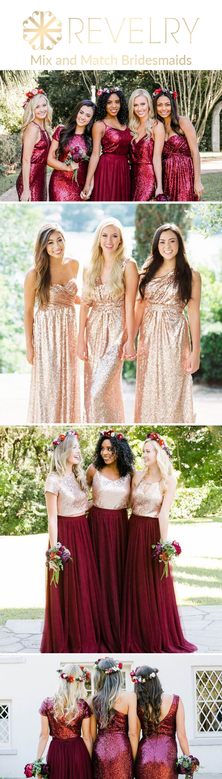 The 25 best unique bridesmaid dresses ideas on pinterest summer mix and match revelry bridesmaid dresses and separatesvelry has a wide selection of unique bridesmaids dresses including tulle skirts classic chiffon ombrellifo Choice Image