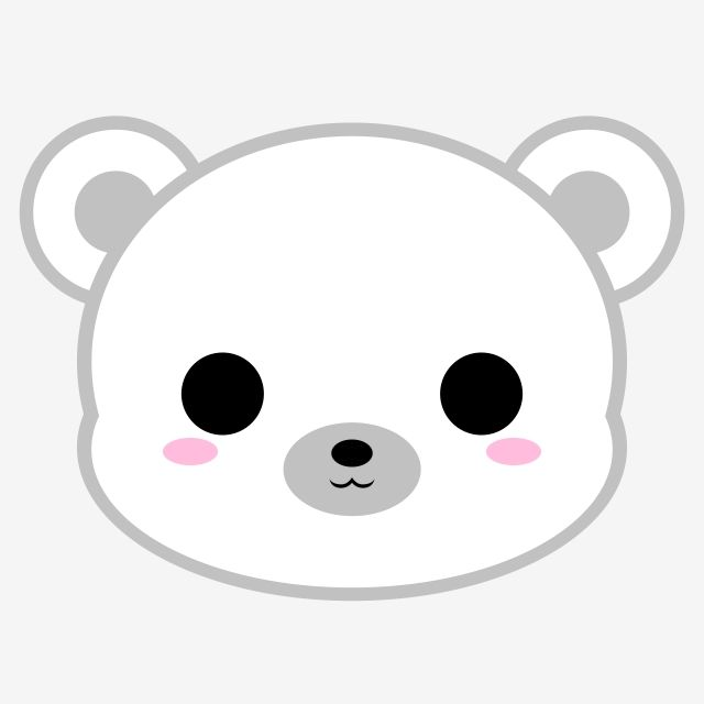 Cute Polar Bear Head Cute Icons Head Icons Bear Icons Png Transparent Clipart Image And Psd File For Free Download Cute Little Drawings Cute Cartoon Images Cute Cartoon Drawings