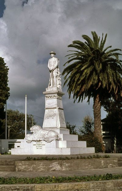 Papakura War Memorial, where we had our ANZAC Day parades every April 25th.