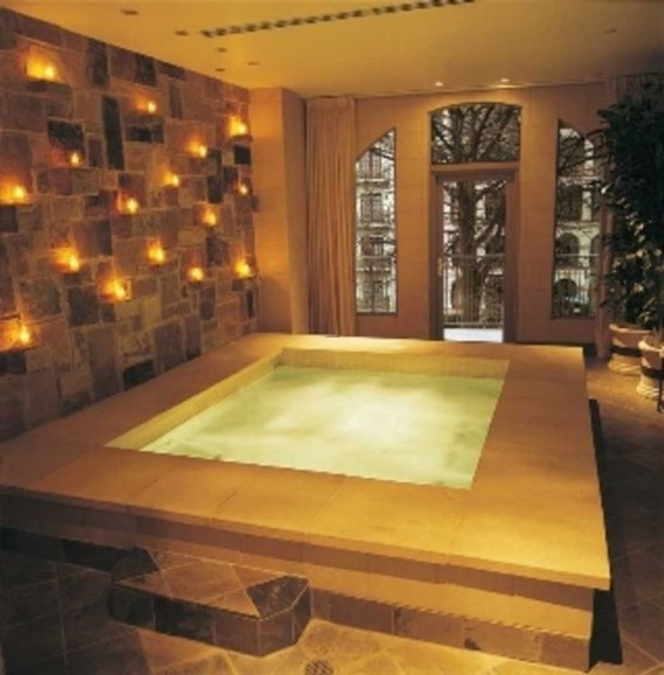 India Luxury Spa Decorating