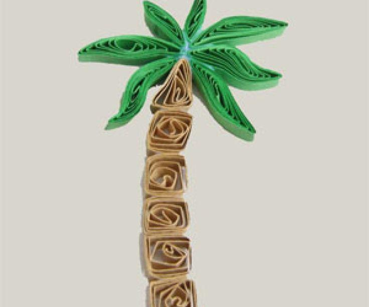 Χαρτί καπιτονέ Palm Tree - Δωρεάν Εκμάθηση
