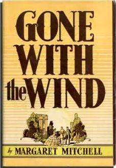 Gone With The Wind First Edition Cover Art
