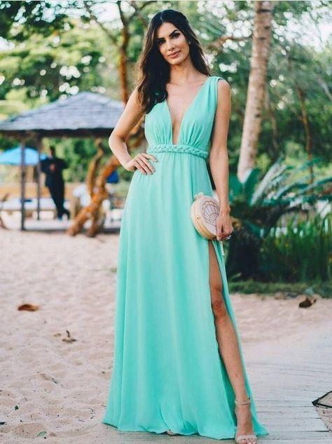 madrinha de casamento na praia