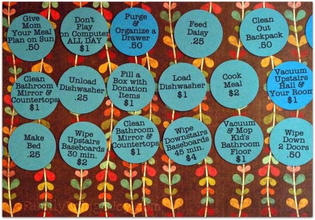 Close Up of Chores: Kiddie Finances, Children Chores, Kids Chore Charts, Chore Ideas, Children S Chores, Kid Chores, Magnetic Chore Charts