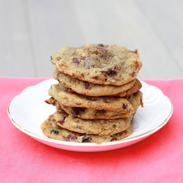 Vanilla-Cherry Walnut Chocolate Chip Cookies | Cookies | Pinterest