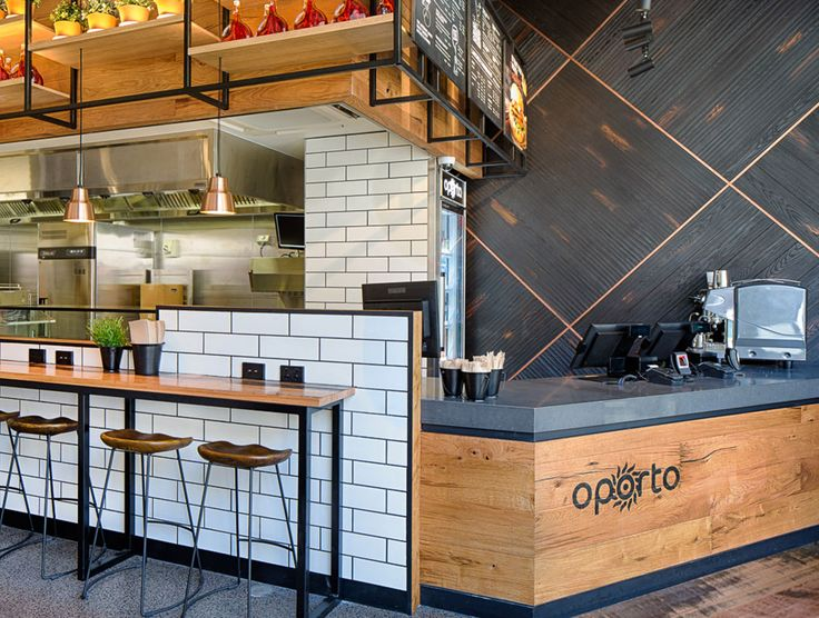 Proving that Havwoods timber is tough enough even for the fast food restaurant industry, this Oporto, located in Surry Hills in Sydney, uses a combination of Havwoods Europlank and Relik products.