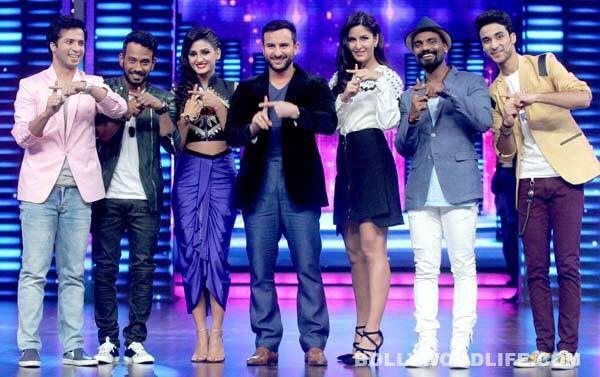 Saif and Katrina on the sets of Dance Plus See more candid shots of Shakti Mohan on www.nrityashakti.com