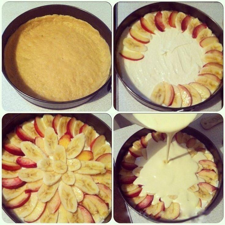 Tartă de vară cu brânză și fructe - un desert ușor, aromat și delicios! - Bucatarul