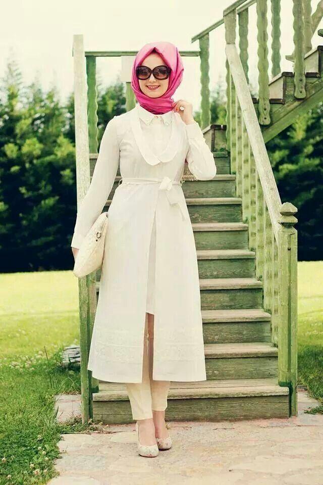 prettiest short abaya  for modest girls   (3)