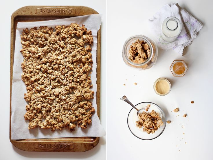 Peanut Butter & Honey Granola ... because when it comes to granola chunkage, bigger is always better.