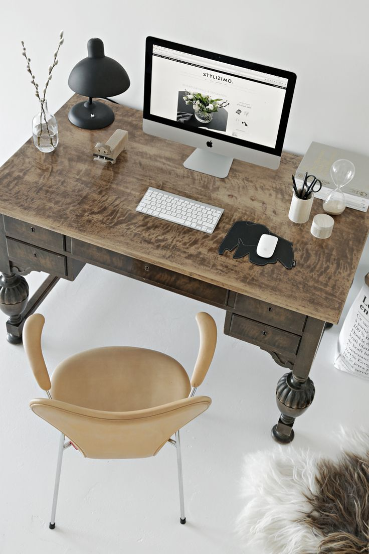 pinterest office desk. workspace inspiration stylizimo pinterest office desk