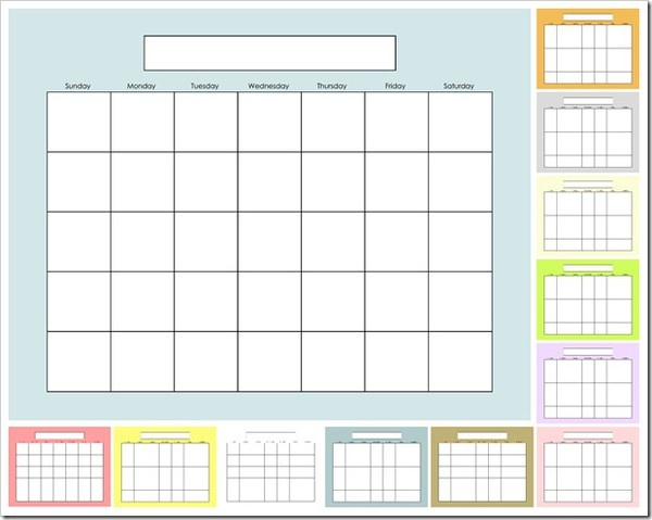 The 25+ best Blank calendar to print ideas on Pinterest Free - blank calendar template