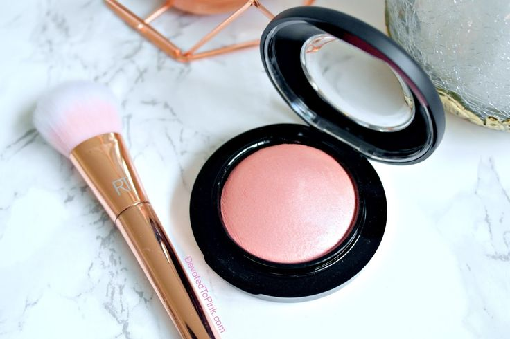 MAC New Romance Mineralize Blush Review With Swatches
