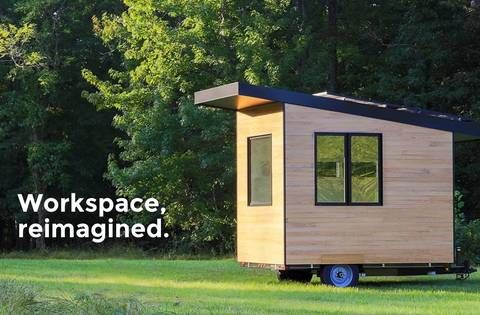 Minim now offers a tiny office on wheels : TreeHugger