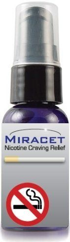 Miracet Stop Smoking System All-natural, homeopathic QUIT smoking Now! 1 Month Supply by Miracet. $29.95. Helps Fight Withdrawal Symptoms. Uses All-Natural Ingredients. Eases Aches & Pains Associated with Quitting. Helps with Insomnia Associated with Quitting. Helps Restore Lung Health. You've decided to stop smoking.  That's great, but the damage is likely already done with the harsh toxins of tobacco smoke having polluted your lungs.  Miracet can reverse tho...