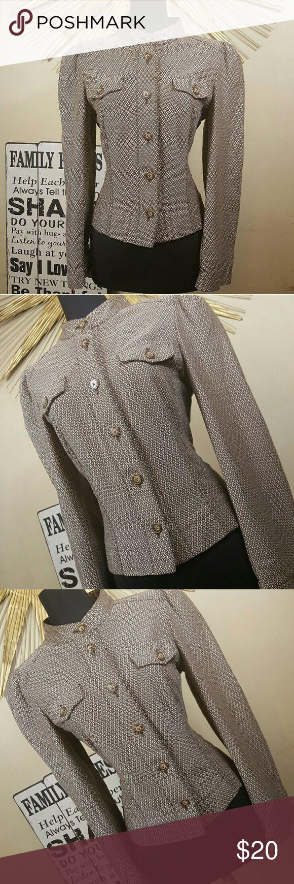 Ann Taylor Loft Career Blazer Jacket Excellent Condition. Tweed Feel.   Approximate Measurements: Bust 20.5' Sleeve 25' LOFT Jackets & Coats Blazers
