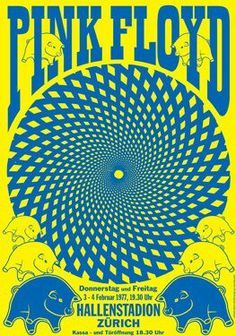 pink floyd gig poster - Google Search